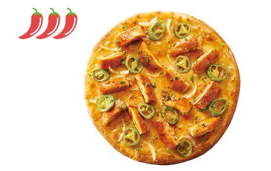 墨西哥查波里风味鸡肉比萨