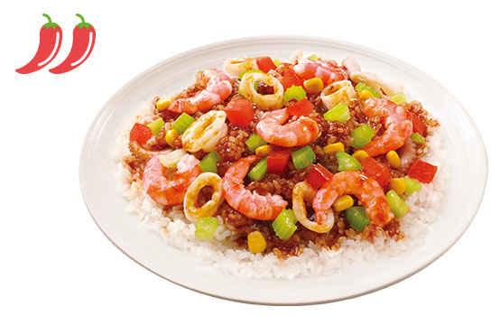 瑶柱海鲜饭