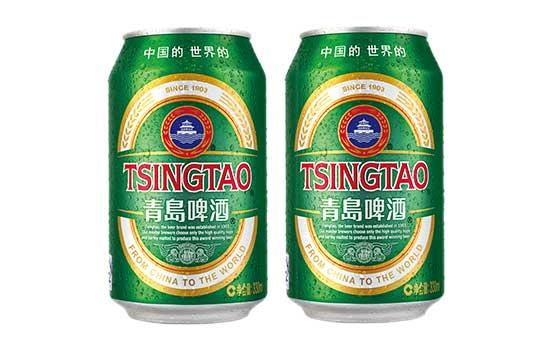 青岛经典啤酒2听
