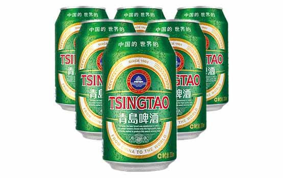 青岛经典啤酒6听