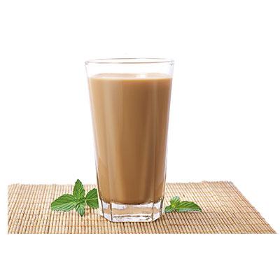 臻选热奶茶