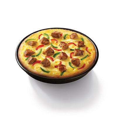 摩洛哥风情鲜香烤鸡比萨