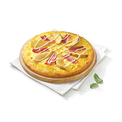 美式土豆培根比萨