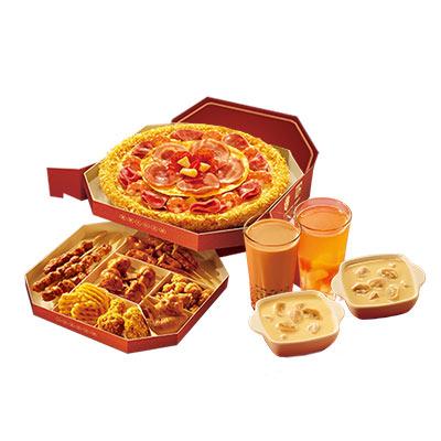 新年乐饕饕比萨套餐(饕餮多人)