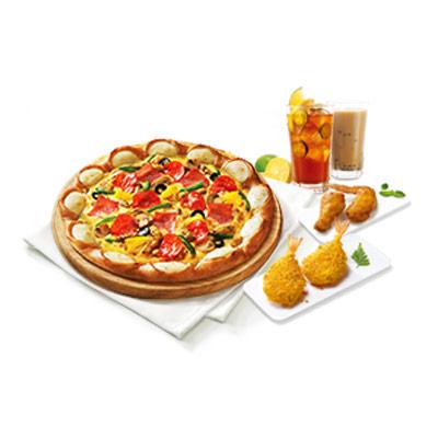 芝心比萨超省套餐