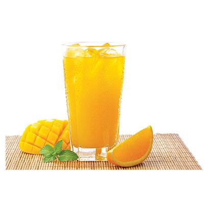 下午茶-香橙很芒果汁饮料