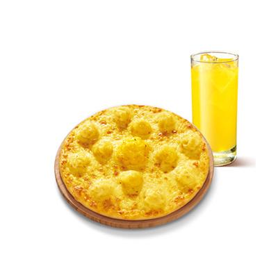 榴莲三结义6寸比萨套餐