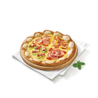 环球培根四合一比萨