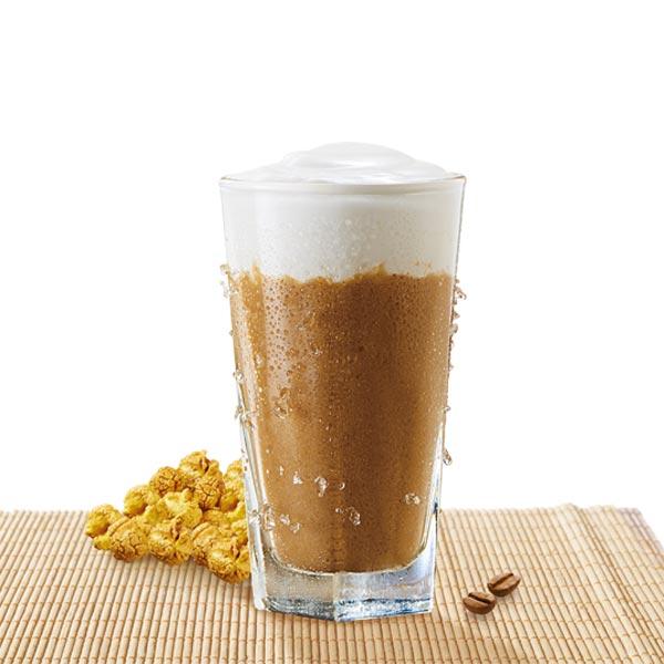 爆米花遇上咖啡奶盖冰沙