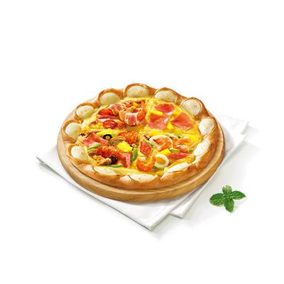 至尊饱四合一比萨