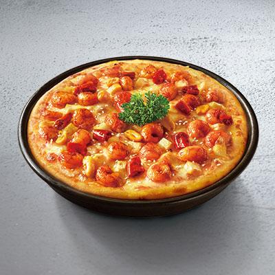热血小龙虾比萨轻奢版