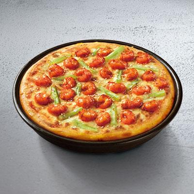 诱惑十八鲜小龙虾比萨