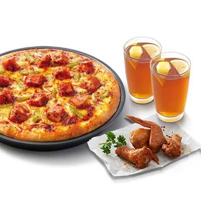 超值比萨2人套餐