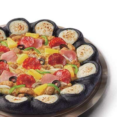 超级至尊芝心黑比萨