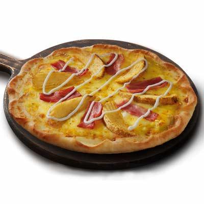 薯角培根比萨