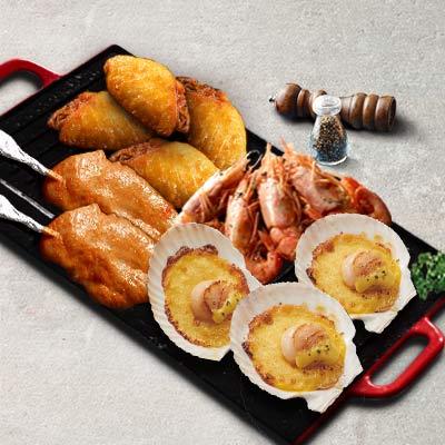 海陆盛宴烧烤拼盘