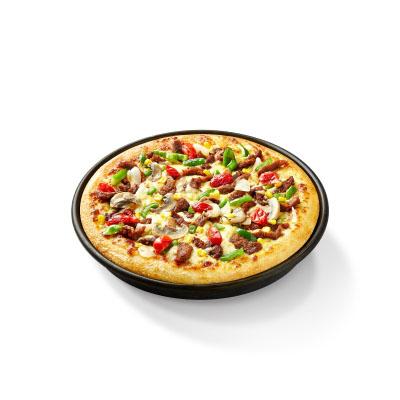 热辣嫩牛比萨