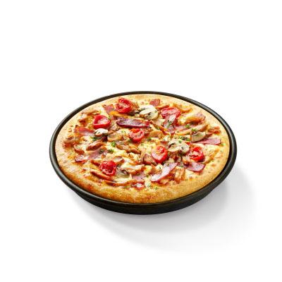 新奥尔良风情烤肉比萨